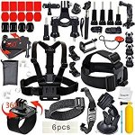 40-Piece Outdoor Sports GoPro Camera Accessory Kit for GoPro HERO 4/3+/3/2/1