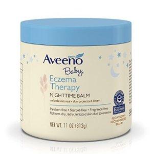 $12.95(原价$17.92)Aveeno Baby 改善湿疹宝宝护理晚霜 312g