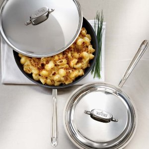All-Clad d5 Stainless-Steel Nonstick Covered Fry Pan | Williams-Sonoma