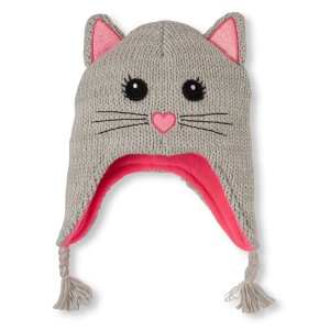 Girls Shimmery Cat Ears Hat   The Children's Place