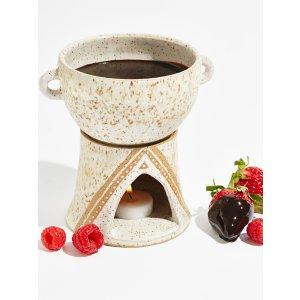 Victoria Smith Ceramics Ceramic Fondue Set at Free People Clothing Boutique