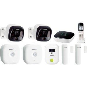 Panasonic DIY Wireless Home Security Bundle
