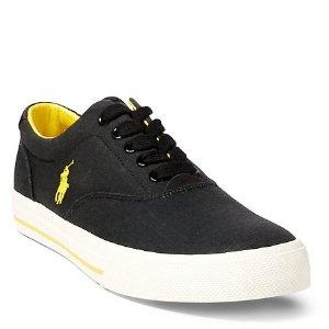 Up to 50% Off + Extra 15% Off Men's Sneakers Sale @ Ralph Lauren