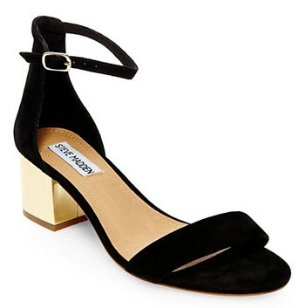 Up to 20% Off STEVE MADDEN Irenee Suede Sandals @Lord & Taylor
