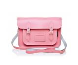 Unineed.com | Zatchels Pastel Pink Leather Satchel (size 11.5