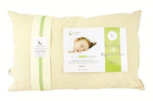 DorDor & GorGor ORGANIC Baby Toddler Pillow 13 X 18 for Kids 2 to 5