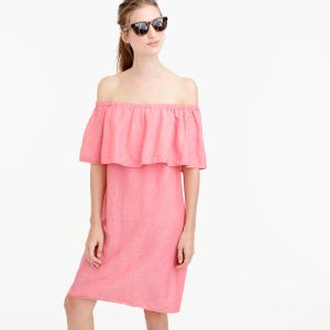 Off-The-Shoulder Dress : Women's Dresses | J.Crew