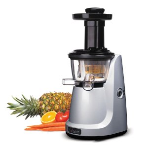 $99.99 Fruitstar (Fs-610-b) Vertical Slow Masticating Juicer for Fruits and Greens