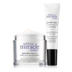 uplifting miracle worker face eye duo| moisturizer | philosophy uplifting miracle worker