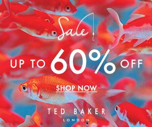 Up to 60% Off@ Ted Baker