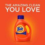 3 for $32.97+$5GC Tide Liquid Laundry Detergent 100oz Various Scents