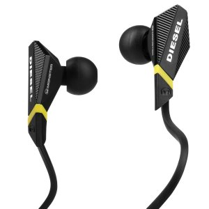 $29.95 Monster Diesel In-Ear Headphone with Control Talk (Black)