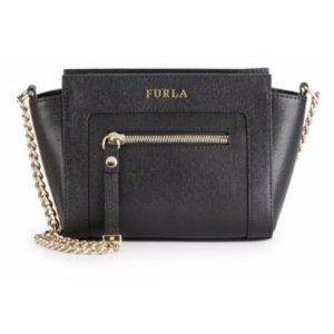 Furla Ginerva Textured Leather Crossbody Bag