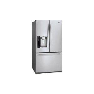 LG 27 cu. ft. 3-Door French Door Refrigerator  Stainless Steel