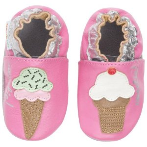 Momo Baby Infant/Toddler Soft Sole Leather Shoes - Sweetie Cream Pink - Rakuten.com