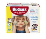 Amazon.com: HUGGIES Simply Clean Baby Wipes, Unscented, Soft Pack , 72 Count, Pack of 9 (648 Total): Health & Personal Care