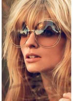 Chloe Carlina Butterfly-Frame Sunglasses on Sale @ Neiman Marcus