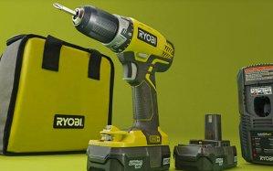 $99 Ryobi Drill Plus Free Power Tool + Free Ryobi power tools