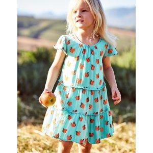 Frill Twirly Dress 33456 Dresses at Boden