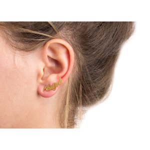 new york ear crawler, gold dipped - Dogeared