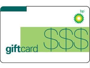 $80 BP Gas Gift Card