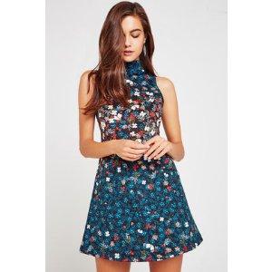 Floral A-Line Dress 连衣裙