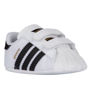 adidas Originals Superstar Crib - Boys' Infant - Basketball - Shoes - White/Black