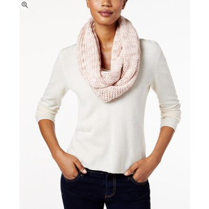 BCBGeneration Thick and Thin Infinity Loop Scarf, A Macy's Exclusive Style - Handbags & Accessories - Macy's