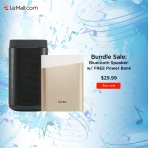 Buy 1 Speaker Get 1 Power Bank for Free! Letv Bluetooth Speaker Sale