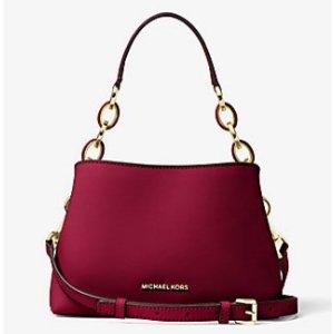 Portia Small Saffiano Leather Shoulder Bag | Michael Kors