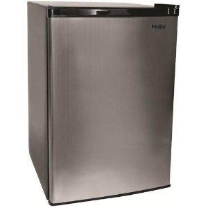 Haier 4.5 cu ft Refrigerator, Virtual Steel