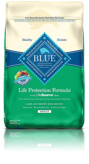 Blue Buffalo Life Protection Dry Adult Dog Food 30lb