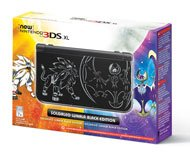 Nintendo New 3DS XL Pokemon Solgaleo Lunala Black Edition