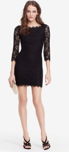 Up to Extra 45% Off Diane von Furstenberg Colleen 3/4-Sleeve Lace Dress @ LastCall by Neiman Marcus