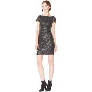 Penni Faux Leather Dress