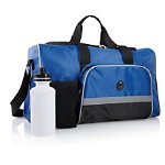 Gym Duffel Bag With Water Bottle