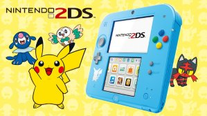 JPY 9351/$81.69 Pre-Order Now! Nintendo 2DS Pokémon Sun/Moon Limited Edition