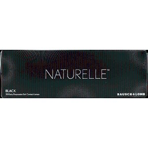 Contact Lenses - Hassle Free & Quick Shipping - NATURELLE PUREBLACK