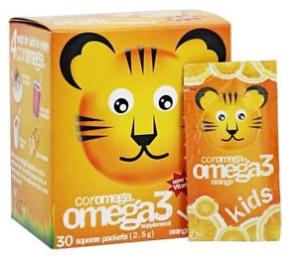 $14.42 COROMEGA Kids Omega 3 Supplement, 30 Count