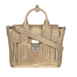 3.1 Phillip Lim Pashli Mini Satchel Beige/Rose Gold