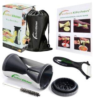 iPerfect Kitchen Vegetable Spiralizer Bundle - Envy Spiral Slicer