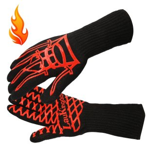 LauKingdom BBQ Grilling Cooking Gloves