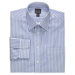 Executive Tailored Fit Spread Collar Dress Shirt