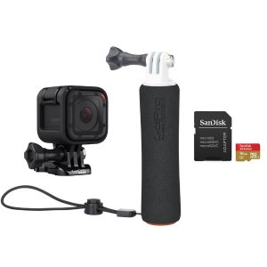 $179.99GoPro HERO Session Waterproof Camera + Handler + Head Strap