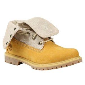 Timberland | Women's Timberland Authentics Canvas Fold-Down Boots