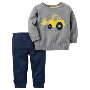 Baby Boy 2-Piece Little Sweater Set | Carters.com