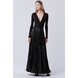 DVF Heavyn Wrap Gown | Landing Pages by DVF