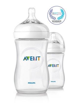 $7.85(原价$13.59)Philips Avent 飞利浦新安怡自然原生系列奶瓶 2个 9oz