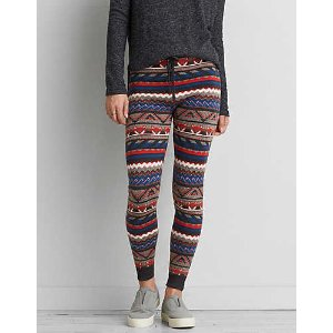 AEO Ahh-mazingly Soft Sweater Legging, True Black | American Eagle Outfitters