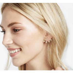 Pavé Sputnik Ear Jackets | BaubleBar